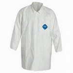 Dupont Tyvek TY212S Front Snap Labcoat Individual