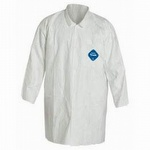 Dupont Tyvek TY212S Front Snap Labcoat Case of 30