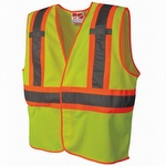 Viking U6110G Open Road BTE Class 2 Safety Vest Green