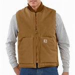 Carhartt V01 Duck Vest Brown