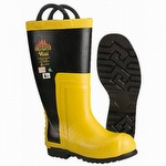 VW91 Viking Firefighter Rubber Chainsaw Boot
