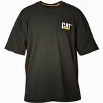 Caterpillar CAT W05324 Trademark Tee Black