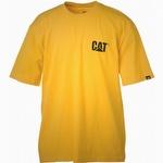 Caterpillar CAT W05324 Trademark Tee Yellow