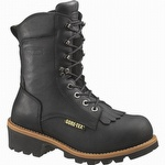 Wolverine Buckeye Insulated WP 8-inch Gore-Tex Safety Toe Logger Boots