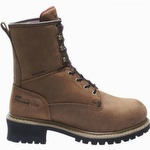 Wolverine Snyder Insulated WP 8-inch EH Steel Toe Logger Boots