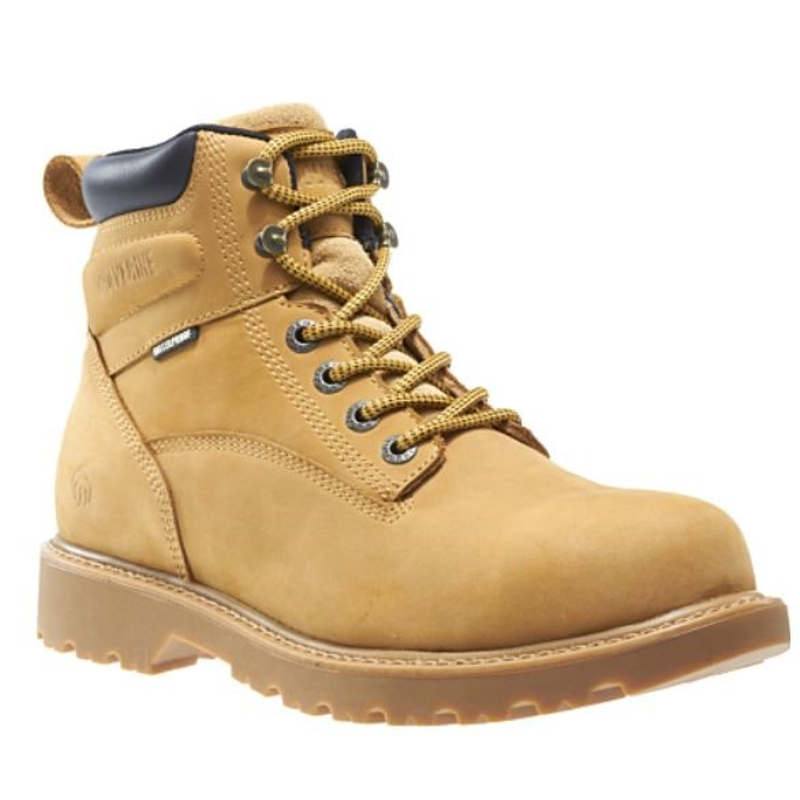 d83e4f1a634 Wolverine Floorhand 6 Inch Waterproof Steel Toe Work Boot Wheat