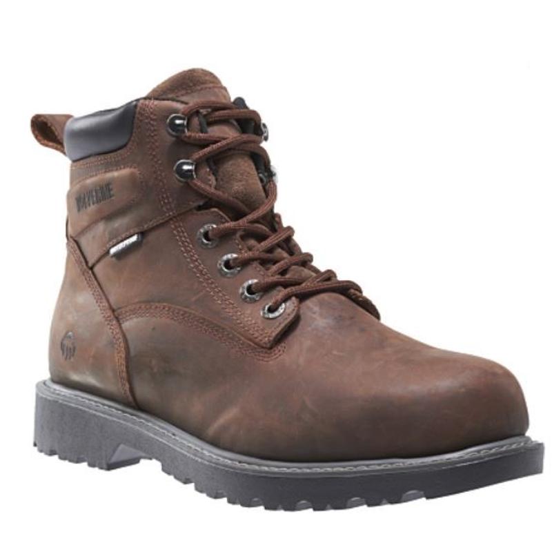 1171f02f5d4 Wolverine Floorhand 6-inch Waterproof Steel Toe Work Boot Brown