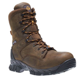 Wolverine Glacier Ice 8 inch Brown Waterproof CarbonMax Insulated Boot
