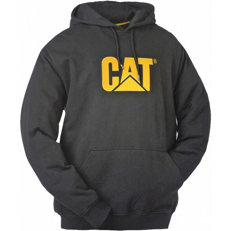 Caterpillar Cat W10646 Trademark Hooded Sweatshirt Black