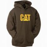 Caterpillar CAT W10646 Trademark Hooded Sweatshirt Dark Earth