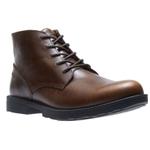 Wolverine Bedford Chukka Steel Toe Work Boot Brown