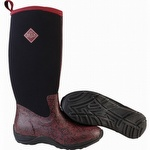 Muck Boots Women's Arctic Adventure Boots Maroon / Aztec