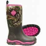 Muck Boots Women's Pink Woody Max Real Tree Xtra