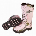 Muck Boots Women's Pursuit Stealth Hunting Boot Pink Realtree ACP